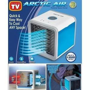 Climatizador air cooler luminária ventilador gelado