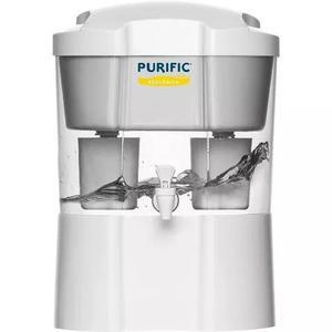 Filtro de água purific ecológico com torneira low flúor