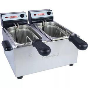 Fritadeira elétrica industrial profissional 4 li 2