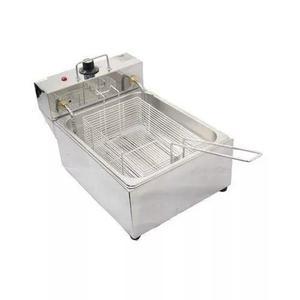 Fritadeira elétrica profissional 5 l 1 cuba 110v ou 220v