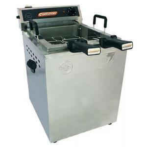 Fritadeira elétrica profissional bancada 18 l água/óleo