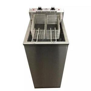Fritador agua/oleo 20lts 8000w elétrico inox c/tampa