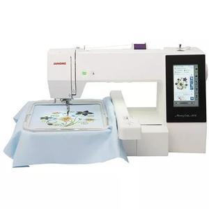 Maquina de bordar janome mc500e loja oficial