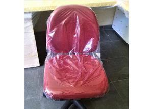 Mesa l laca amarela+gaveteiro+cadeira giratória+cesto novos