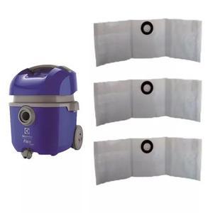 Saco p/ aspirador de pó eletrolux flex kit c/03 un.