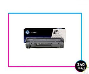 Toner laserjet mono hp suprimentos ce278ae hp 78a preto