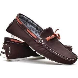 Sapatenis masculino dockside sapato casual social mocassim