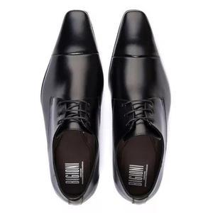 83798573c Sapato social estilo italiano bico fino 100% couro legítimo