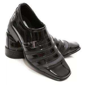 28d35fd18b Sapato social masculino infantil verniz couro ecológico