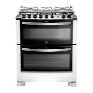 Fogão duplo forno de piso 5 bocas (76dpb)