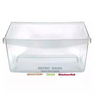Gaveta compartimento de legumes geladeira consul w10581058