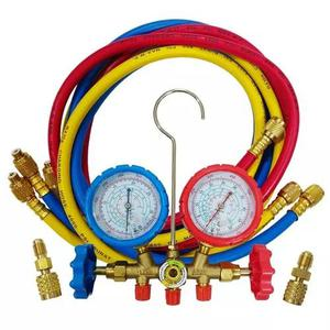 Kit manifold profissional r22/r410a/r134a + frete grátis