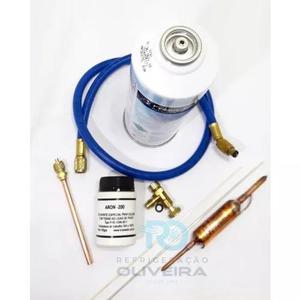 Kit para recarga de gás r134