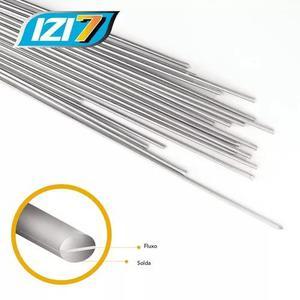 Vareta de solda alumínio modelo izi 7 com fluxo 15 unidades