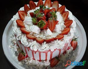 Tortas bolos docinhos salgados por encomenda