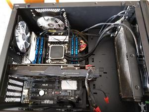 Desktop gamer i7 6800k 32gb ram 512gb nvme strix 1060