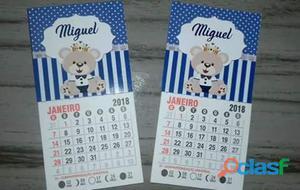 Mini calendário imã
