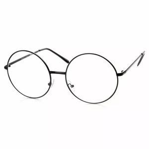 Armação de óculos redondo oversized - janis joplin -