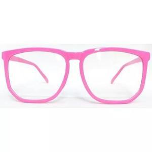 Armação nerd retrô grande para óculos de grau - várias
