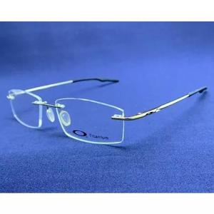 Armação oculos grau masculino titânio gold ox3122