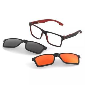 Armação oculos grau mormaii swap m6057aa956 clip on