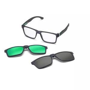 Armação oculos grau mormaii swap m6057d6356 clip on