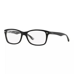 Armação oculos grau ray ban rb5228 5405 53mm preto fosco