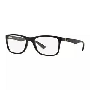 Armação oculos grau ray ban rb7027l 2000 54mm preto brilho