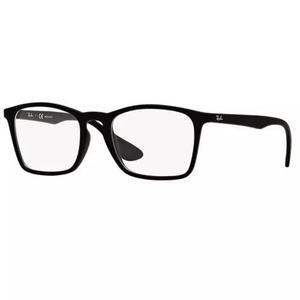 Armação oculos grau ray ban rb7045l 5364 55mm preto fosco
