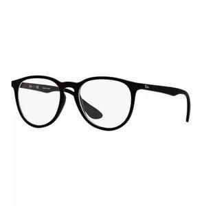 4337fb43134fe Armação oculos grau ray ban rb7046l 5364 53mm preto fosco