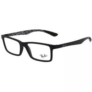 Armação oculos grau ray ban rb8901 5263 55mm fibra carbono
