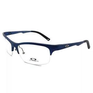 Armação p/ oculos de grau meio aro oa4015 masculino + case