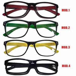Armação p oculos leitura descanso várias cores frete