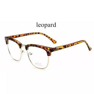 Armação óculos de grau acetato metal masculino f