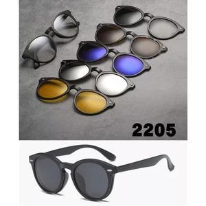 Armação óculos de grau clip on 6