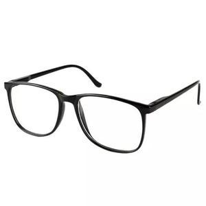 6302074b1 Armação óculos de grau masculino quadrado grande preto em Brasil ...