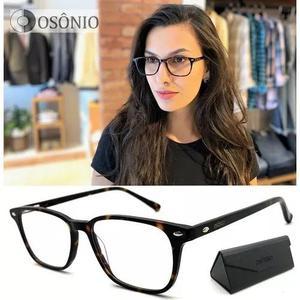 Armação óculos grau acetato osônio os65 original pr