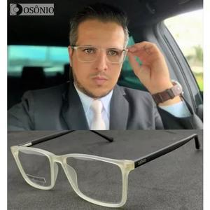 Armação óculos grau masculino osônio os49 original