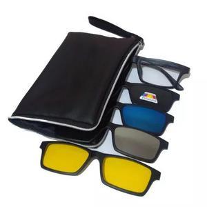 ee21daba4 Armação óculos grau sol clip on polarizado espelhado 68 em Brasil ...