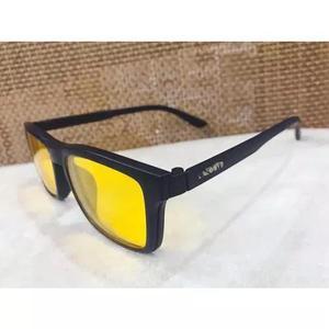 Armação óculos grau sol masculino 2 clip on original