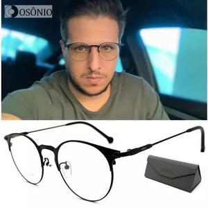 65a68656f596f Armacao oculos grau titanio   REBAIXAS fevereiro     Clasf