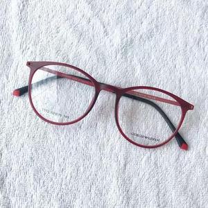 99515512c3acd Armação óculos titânio acetato redondo masculino e