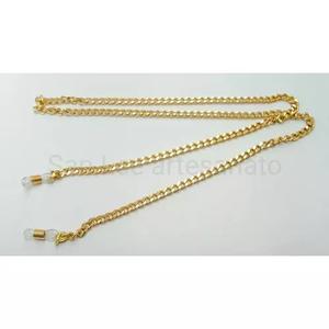 3766801c2af4b Cordão segura óculos salva óculos corrente dourada 5mm