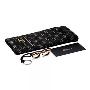 d95f24146 Estojo case p/ óculos ogrife saco mola microfibra grossa