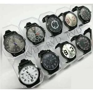 Kit C/ 05 Relógios Masculinos Atacado + 05 Caixas + 05