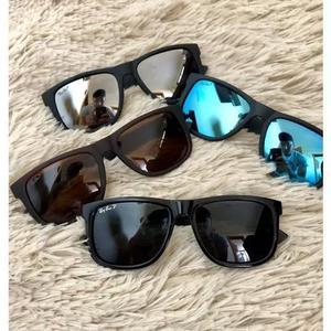 73a0e4a620046 Oculos de sol masculino kit com 4 just quadrado preto barato em ...