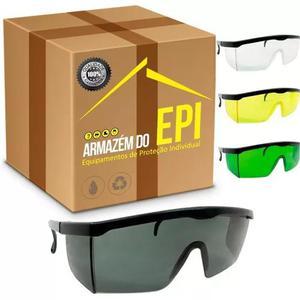 7103488c04840 Oculos incolor proteção epi construção proteplus caixa
