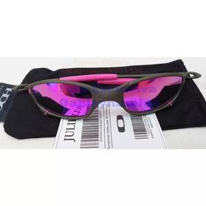 ef90f7653810c Oculos juliet xmetal lente rosa pink polarizada u.s.a