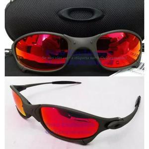 Oculos juliet xmetal lente vermelha red fire polarizada 263f6a68f0