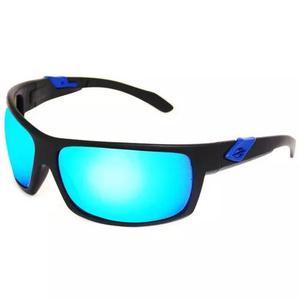 Oculos sol mormaii joaca 345a1412 preto fosco azul espelhado